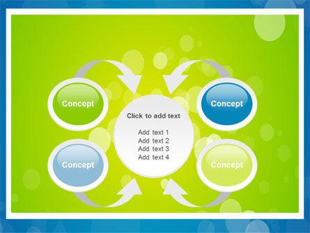 Aqua-Green Frame PowerPoint Template Slide 6