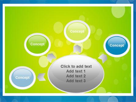 Aqua-Green Frame PowerPoint Template Slide 7
