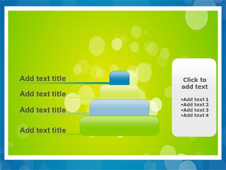 Aqua-Green Frame PowerPoint Template Slide 8