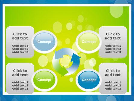 Aqua-Green Frame PowerPoint Template Slide 9