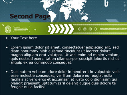 Global Development PowerPoint Template, Slide 2, 07387, Global — PoweredTemplate.com