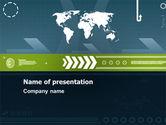 Global: Global Development PowerPoint Template #07387