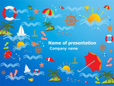 Art & Entertainment: Plantilla de PowerPoint - tiempo de vacaciones #07393