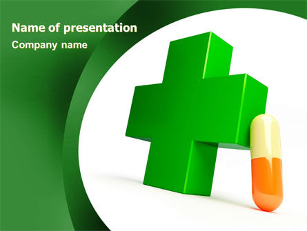 Medical: Pharmacy PowerPoint Template #07396
