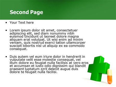 Pharmacy PowerPoint Template, Slide 2, 07396, Medical — PoweredTemplate.com