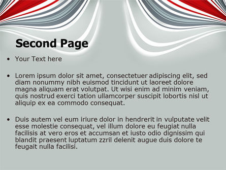 Gray Wave PowerPoint Template Slide 2
