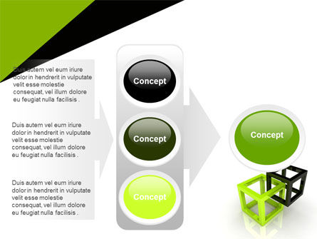 Integrated Cubes PowerPoint Template Slide 11