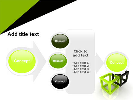 Integrated Cubes PowerPoint Template Slide 17