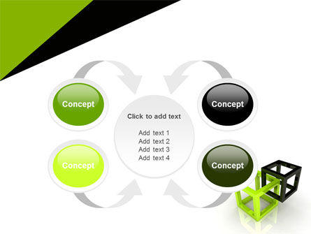 Integrated Cubes PowerPoint Template Slide 6