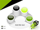 Integrated Cubes PowerPoint Template#12