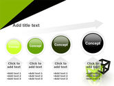Integrated Cubes PowerPoint Template#13