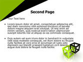 Integrated Cubes PowerPoint Template#2