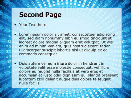 Ray-like Pattern PowerPoint Template, Slide 2, 07399, Technology and Science — PoweredTemplate.com