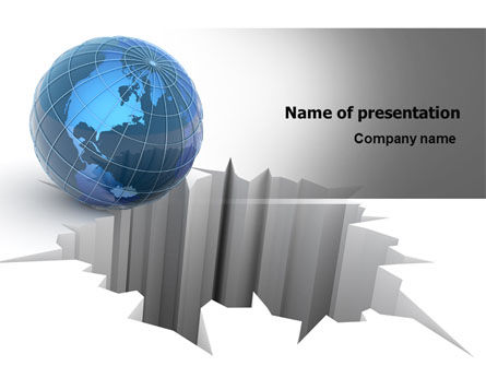 Global: World at Stake PowerPoint Template #07400