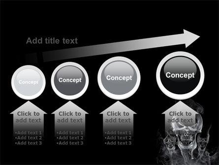 Smoke Skulls PowerPoint Template Slide 13