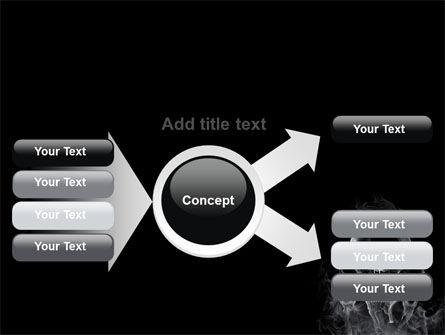 Smoke Skulls PowerPoint Template Slide 14