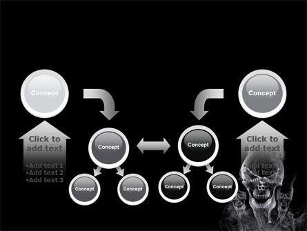 Smoke Skulls PowerPoint Template Slide 19