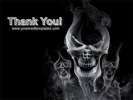 Smoke Skulls PowerPoint Template Slide 20