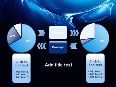 Blue Smoky Circles PowerPoint Template Slide 11