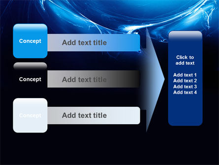 Blue Smoky Circles PowerPoint Template Slide 12