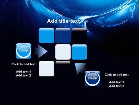 Blue Smoky Circles PowerPoint Template Slide 16