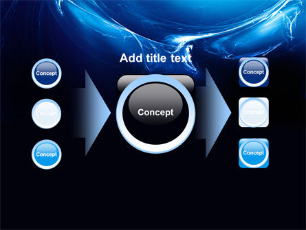 Blue Smoky Circles PowerPoint Template Slide 17