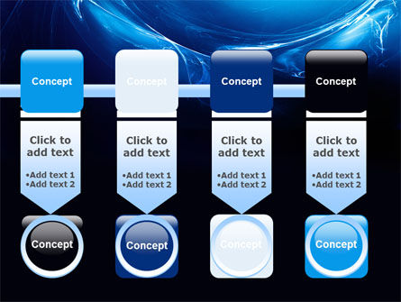 Blue Smoky Circles PowerPoint Template Slide 18
