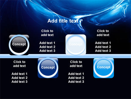 Blue Smoky Circles PowerPoint Template Slide 19