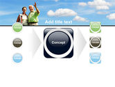 Old Couple PowerPoint Template#17