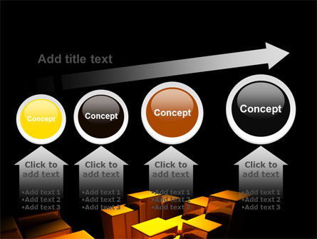 Gold Boxes PowerPoint Template Slide 13