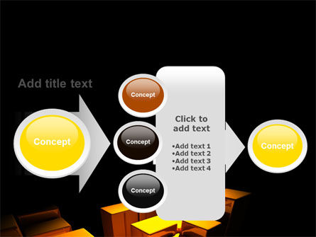 Gold Boxes PowerPoint Template Slide 17
