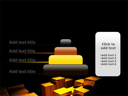Gold Boxes PowerPoint Template Slide 8