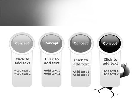 Cracked Question PowerPoint Template Slide 5
