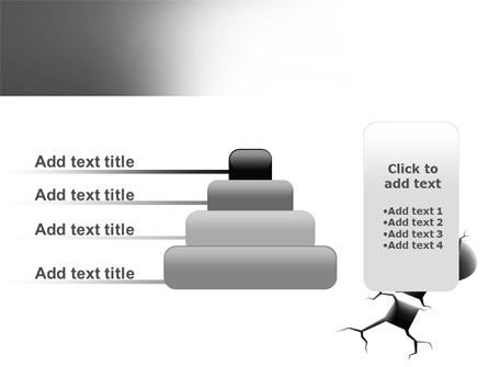 Cracked Question PowerPoint Template Slide 8