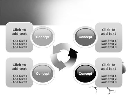 Cracked Question PowerPoint Template Slide 9