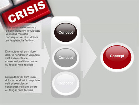 Crisis Button PowerPoint Template Slide 11