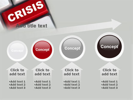 Crisis Button PowerPoint Template Slide 13