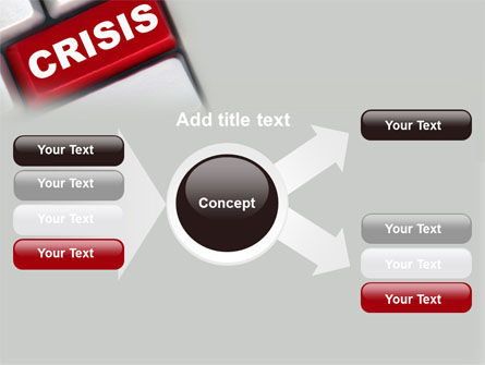 Crisis Button PowerPoint Template Slide 14