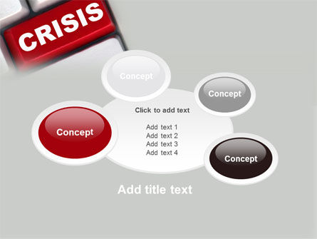 Crisis Button PowerPoint Template Slide 16
