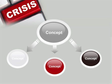 Crisis Button PowerPoint Template Slide 4