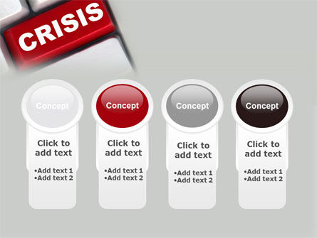 Crisis Button PowerPoint Template Slide 5