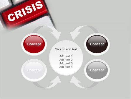 Crisis Button PowerPoint Template Slide 6