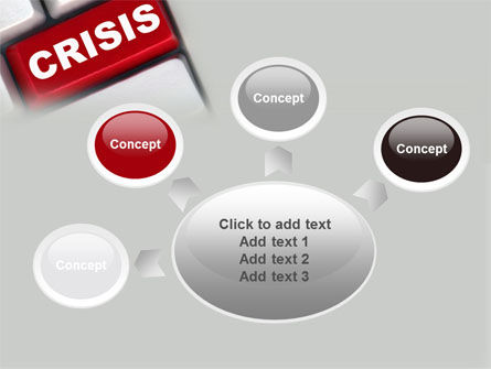 Crisis Button PowerPoint Template Slide 7
