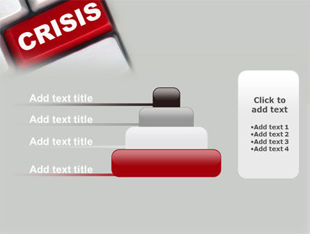 Crisis Button PowerPoint Template Slide 8