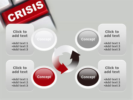 Crisis Button PowerPoint Template Slide 9