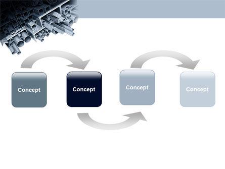 Steel Pipes PowerPoint Template Slide 4