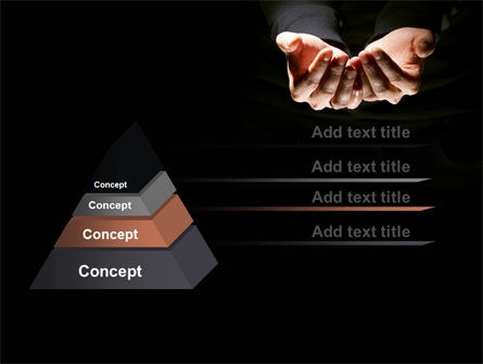 Cupped Hands PowerPoint Template Slide 12
