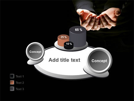 Cupped Hands PowerPoint Template Slide 16