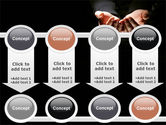 Cupped Hands PowerPoint Template#18