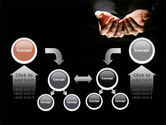 Cupped Hands PowerPoint Template#19